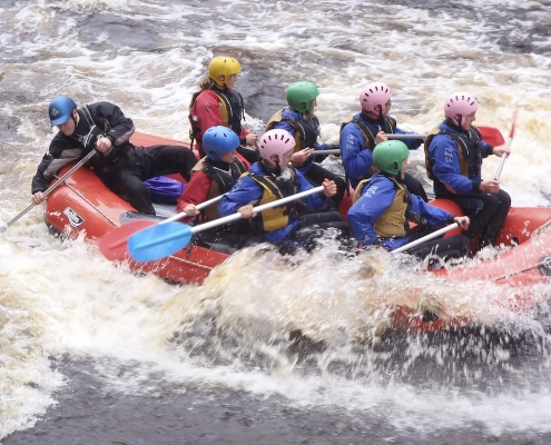 10. Immanuel College White Water Rafting Camp