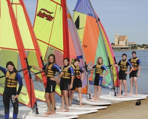 12. Immanuel College Windsurfing