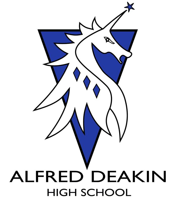 Alfred Deakin High School Logo